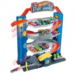 Pista Hot Wheels City Stunt Garage Mattel - GNL70
