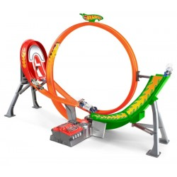Pista Hot Wheels Power Shift Raceway Mattel - FCF18