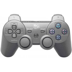 Controle Play Game Inalámbrico Dualshock PS3 - Plata