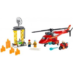 Lego City Fire Rescue Helicopter 60281 / 212 Pzs