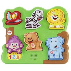 Animais Do Zoológico Fisher-Price Mattel CGN02