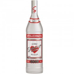 Vodka Stolichnaya Night Edition 1 Litro