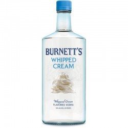 Vodka Burnett's Whipped Cream 750 ML