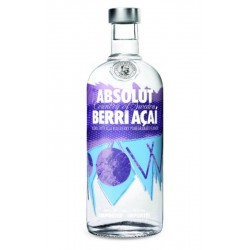 Vodka Absolut Berri Açaí 1Lt