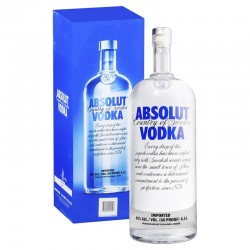 Vodka Absolut 4,5 Lt con Caja