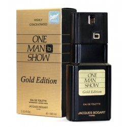 Perfume Jacques Bogart One Man Show Gold Edition EDT 100mL - Masculino