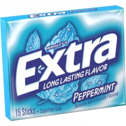 Chiclete Extra Peppermint 15 Uni.