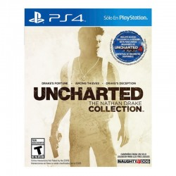 Juego Uncharted The Nathan Drake Collection