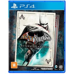 Juego Batman Return To Arkham - PS4