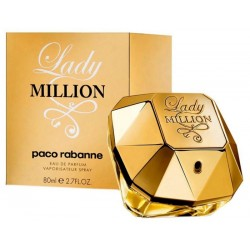 Perfume Paco Rabanne Lady Million EDP 80mL - Femenino