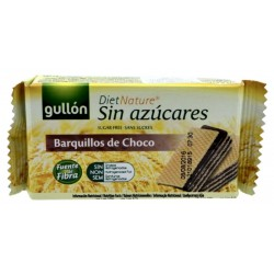 Galletitas Wafer Gullón Barquillos de Chocolate sin azucar 70g