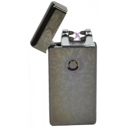Isqueiro Eletronico Dae USB Lighter - Grafite