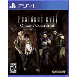Juego Resident Evil Origins Collection - PS4