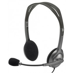 Headset Logitech H111 Estéreo WIN/IOS/Android 981-000612