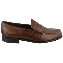 Sapato Rockport Classic Loafer Penny M76444 DK Brown