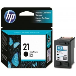 Cartucho de Tinta HP C9351AL 21 7ml Negro