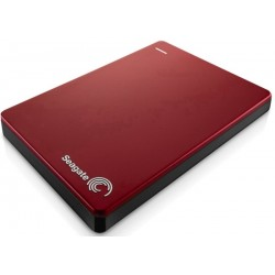 HD Externo Seagate 2TB Backup Slim Portable USB 3.0 PC Mac iOS e Android - Vermelho