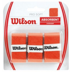 Overgrip Absorbent Wilson Pro Soft WRZ4040OR Laranja