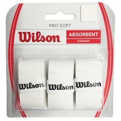 Overgrip Absorbent Wilson Pro Soft WRZ4040WH Branco