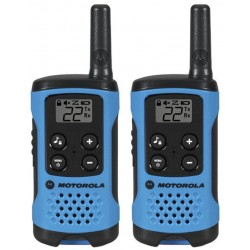 Radio Motorola Talkabout Serie T100 2-Way (2 Pack) - Azul