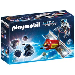 Playmobil City Action Satélite com laser para meteoritos 6197
