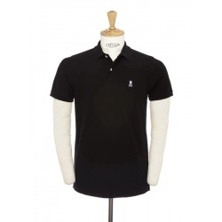 Camisa Classic Polo Psycho Bunny KR0001 BLK