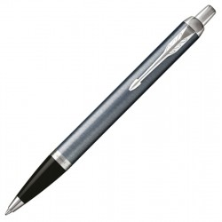 Caneta Parker IM Ballpoint Light Grey Chrome 1975564