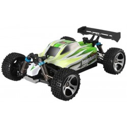 Automodelo Off Road WLtoys Brave PRO Buggy A959-B 1/18 RTR 4WD Max 70km/h-Verde