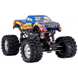 Automodelo Off Road Team Redcat Ground Pounder 1/10 4x4 - Azul