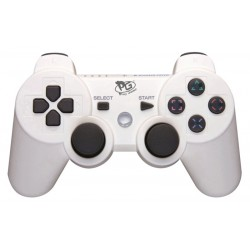 Controle Play Game Sem Fio Dualshock PS3 Blister - Branco