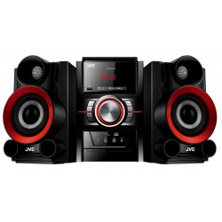 Mini System JVC MX-DN100 - HiFi/Bluetooth/USB/DVD/MP3 Bivolt Negro