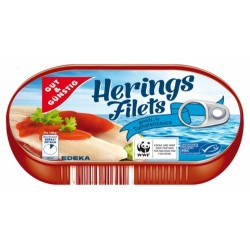 Arenque Gut & Günstig Herings Filets Tomatensauce 200g