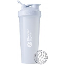 Blender Bottle Classic 800ml - Branco