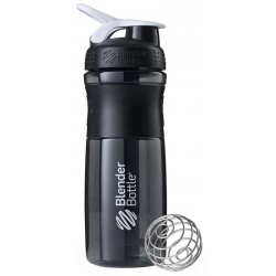 Blender Bottle Sport Mixer 800ml - Preto/Branco
