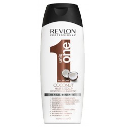Shampoo e Condicionador Revlon Uniq One Coconut Hair & Scalp 300mL