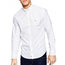 Camisa Tommy Hilfiger Solid Oxford C8178A4322 100 - Masculina