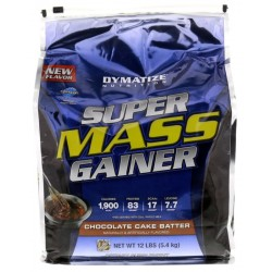 Dymatize Super Mass Gainer Chocolate Cake Batter (5.4kg)