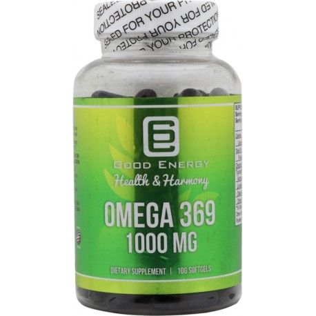 Suplemento Good Energy Omega 369 1000 mg 100 Capsulas
