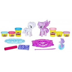 Moda Divertida My Little Pony Princesa Twilight Sparkle & Rarity Hasbro Play-Doh B9717