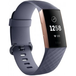 Pulsera Deportiva Fitbit Charge 3 Blue Gray