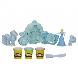 Plastilina Hasbro Play-Doh C1045 Disney Carruaje Real