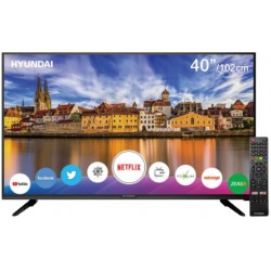 "Smart TV LED Hyundai 40"" HY40NTFB Linux FHD Digital USB HDMI"