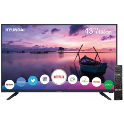 "Smart TV LED Hyundai 43"" HY43NTFB Linux FHD Digital USB HDMI"