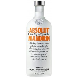 Vodka Absolut Mandrin 750mL