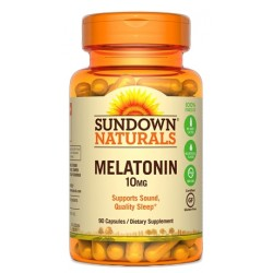 Sundown Naturals Melatonin 10MG (90 Capsulas)
