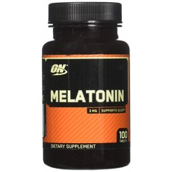 Optimum Nutrition Melatonin 3MG - (100 Capsulas)