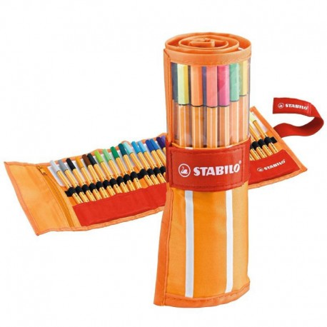 Bolígrafo Fineliner Stabilo Point 88  0.4 mm 8830-2 - (30 Colores)