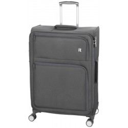 Maleta de Viaje IT Luggage LINQ-IT - Lux Expansiva con candado TSA - Mediano/Dark Gull