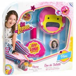 Kit Perfume Disney Soy Luna EDT 30mL + Bolsa + Pins - Infantil