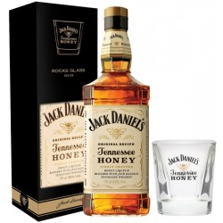 Whisky Jack Daniel's Original Recipe Tennessee Honey 750mL + 1 Vaso